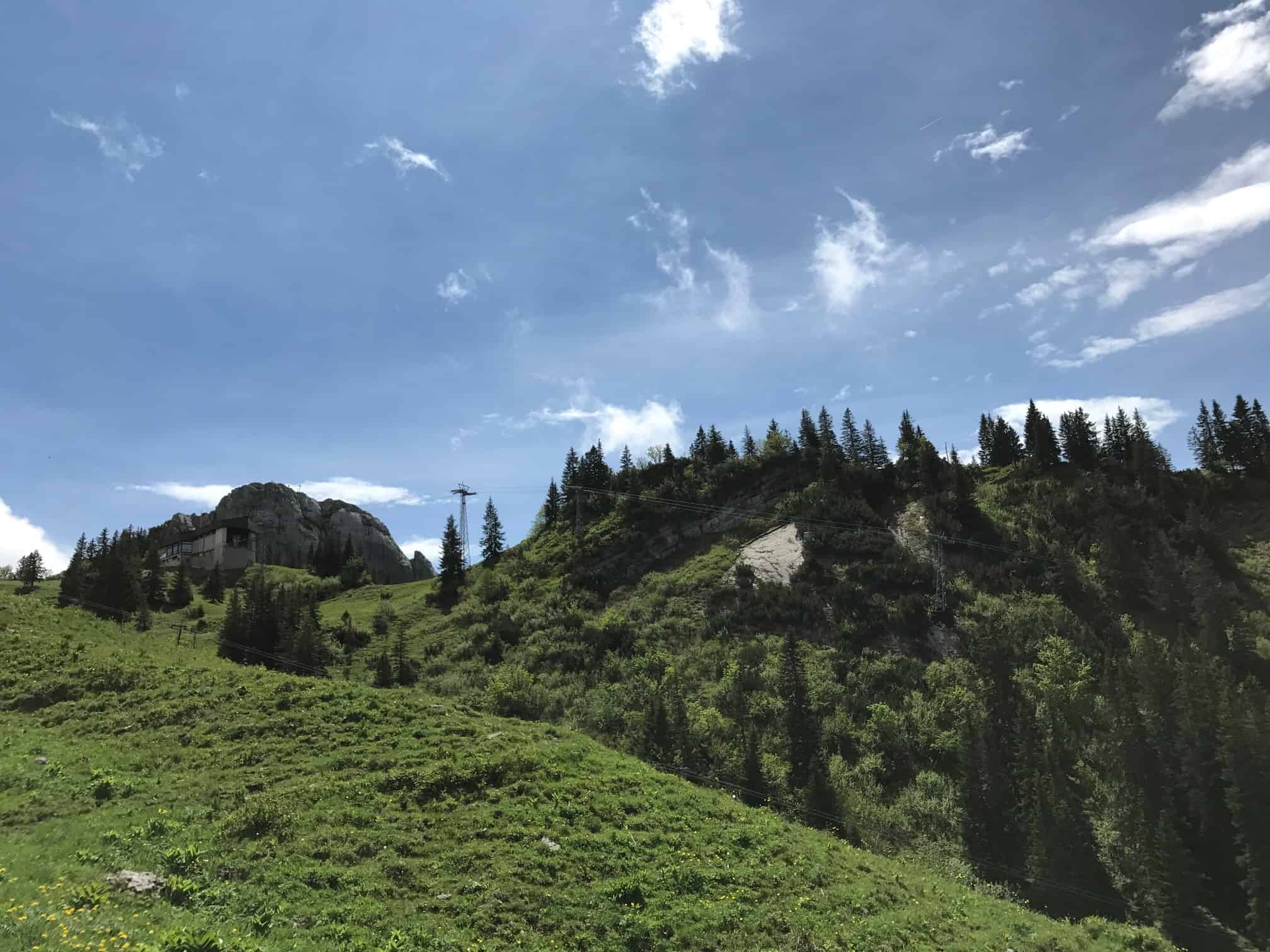 Blick auf Taubensteinbahn