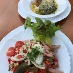 Essen auf der Schönfeldhütte