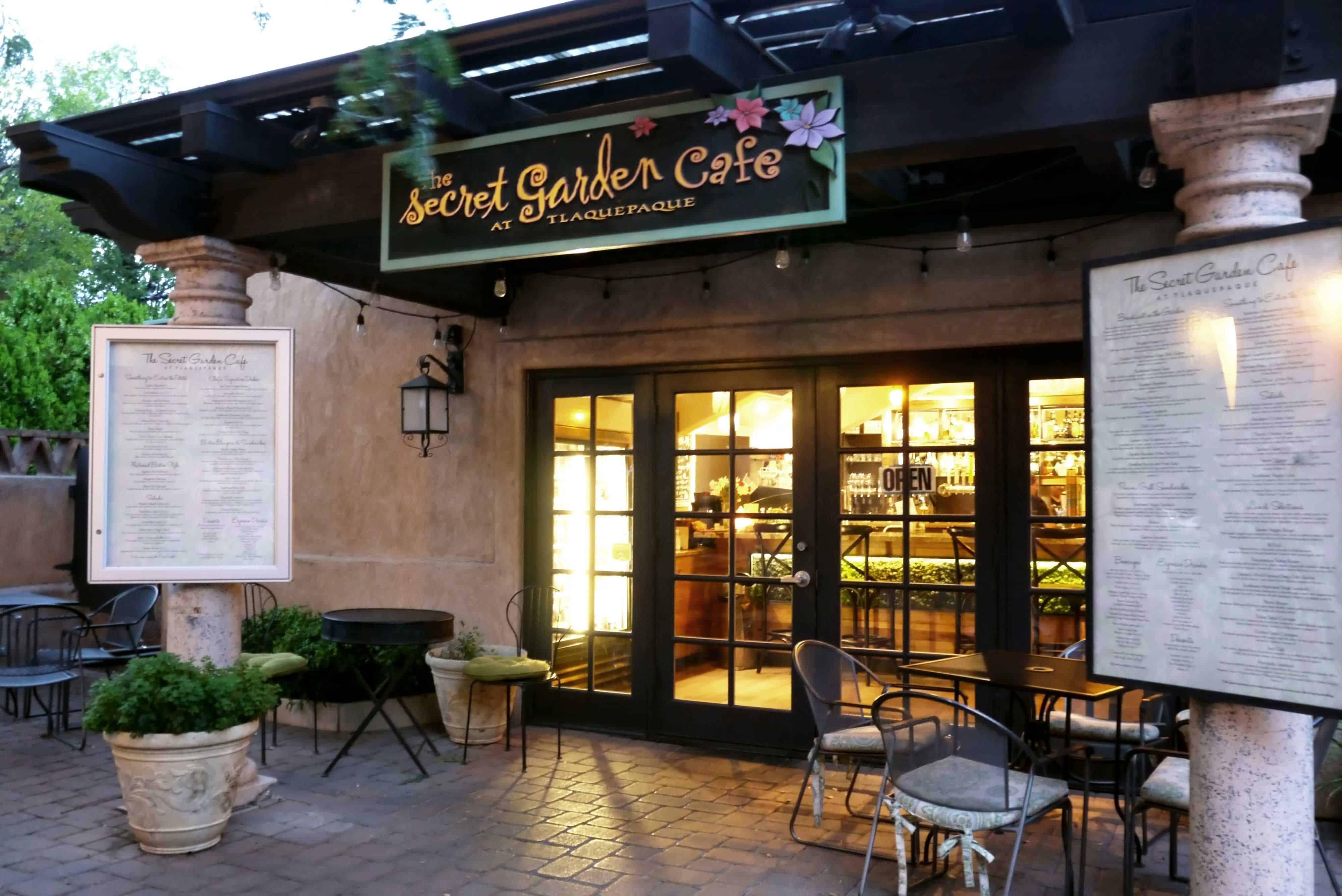 Secret Garden Cafe in Sedona Arizona