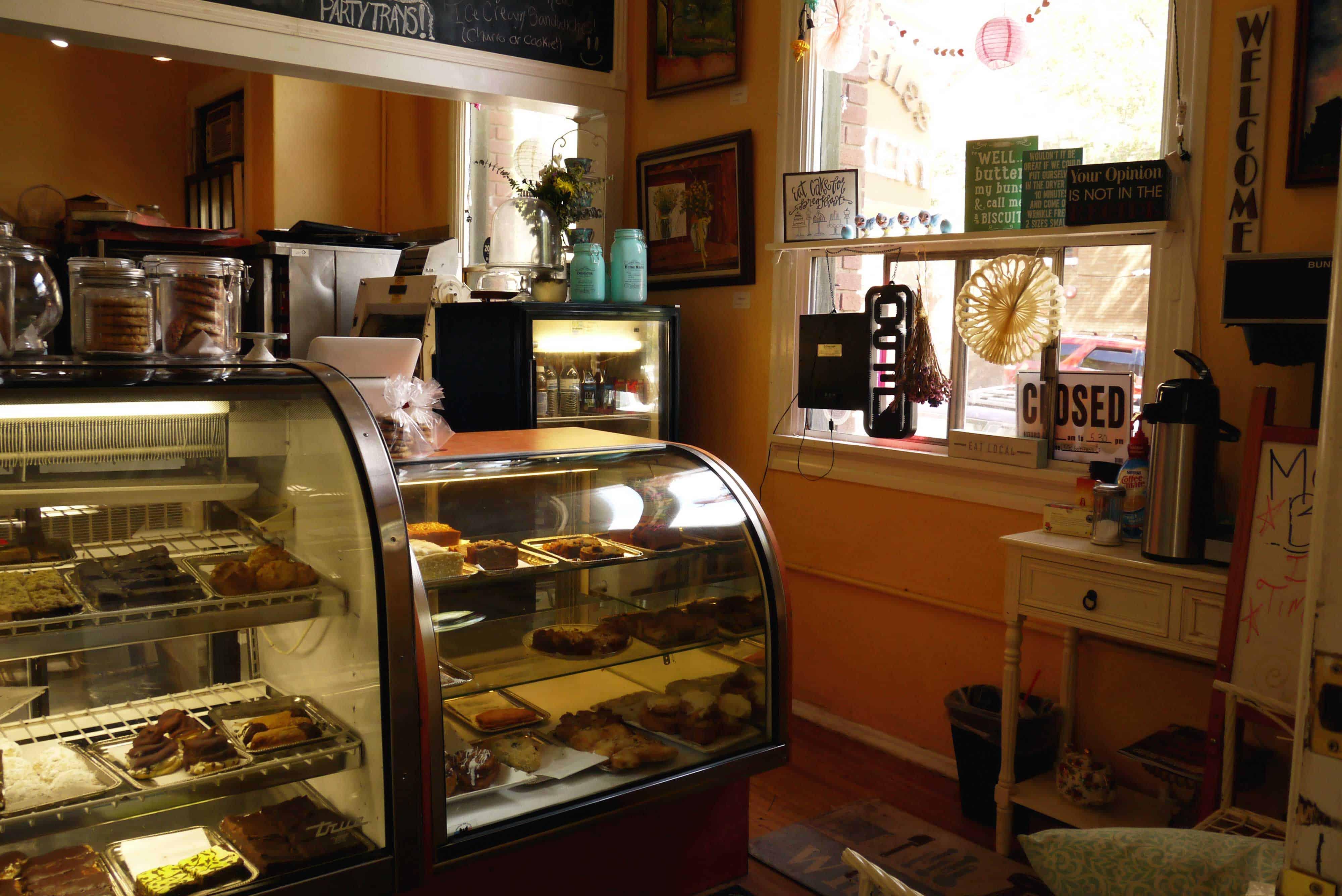 Kühlvitrinen in Bäckerei