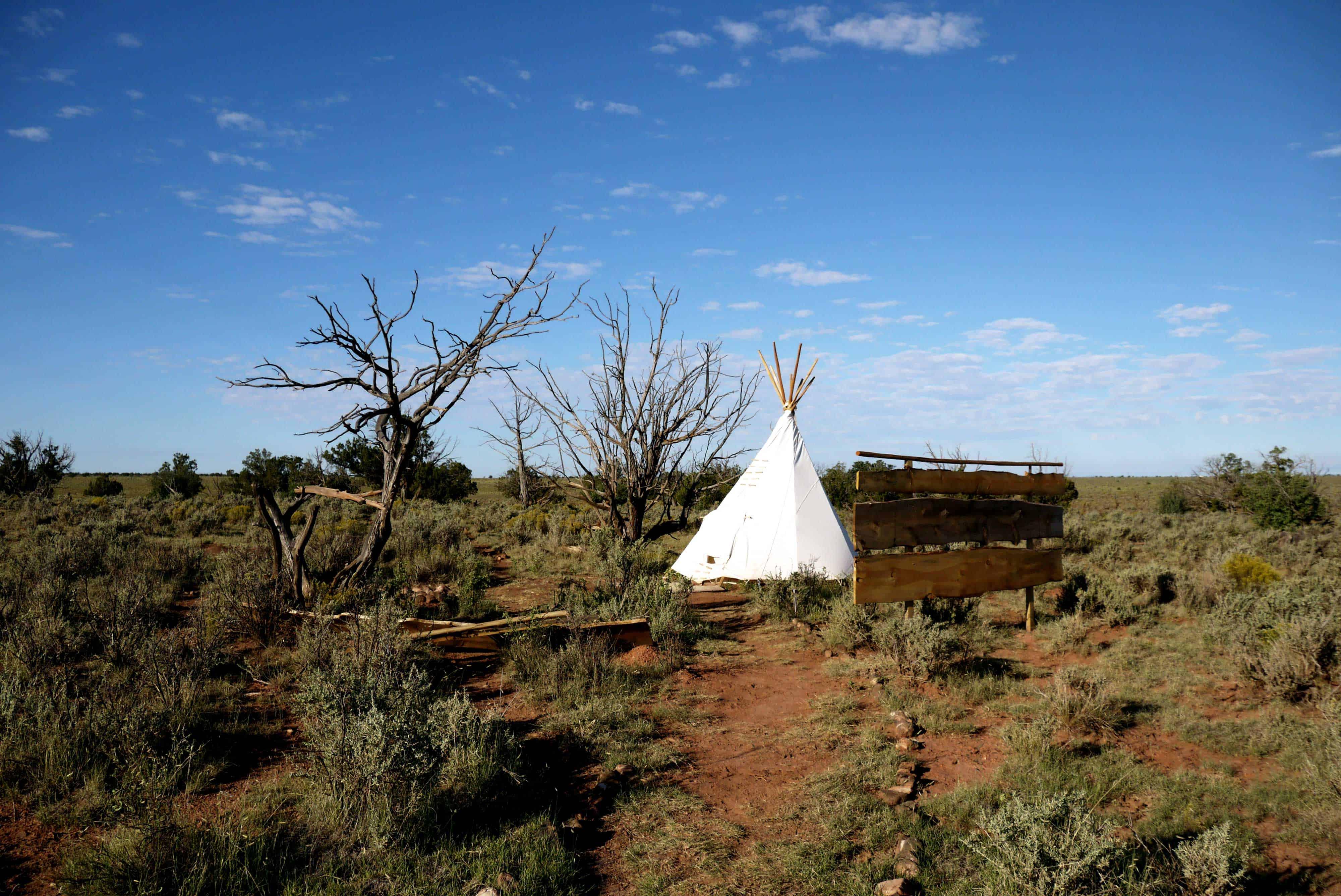 Airbnb Unterkunft Tipi