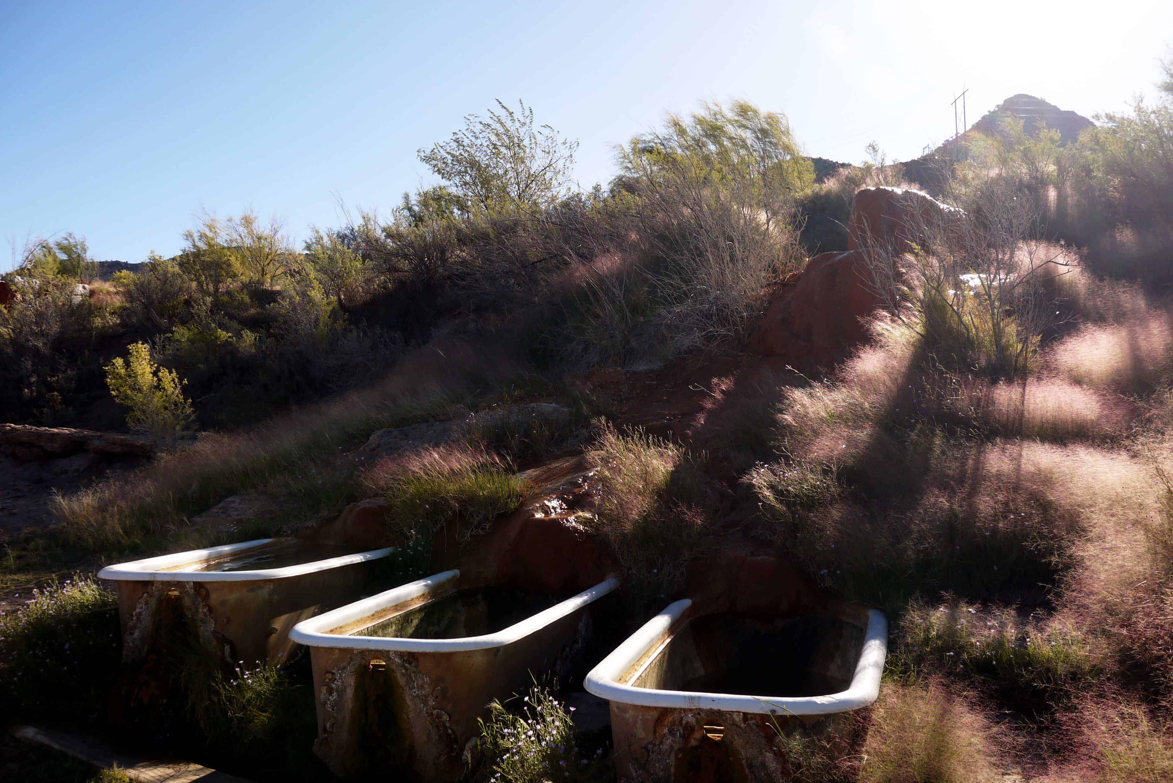 Badewannen und Hot Springs