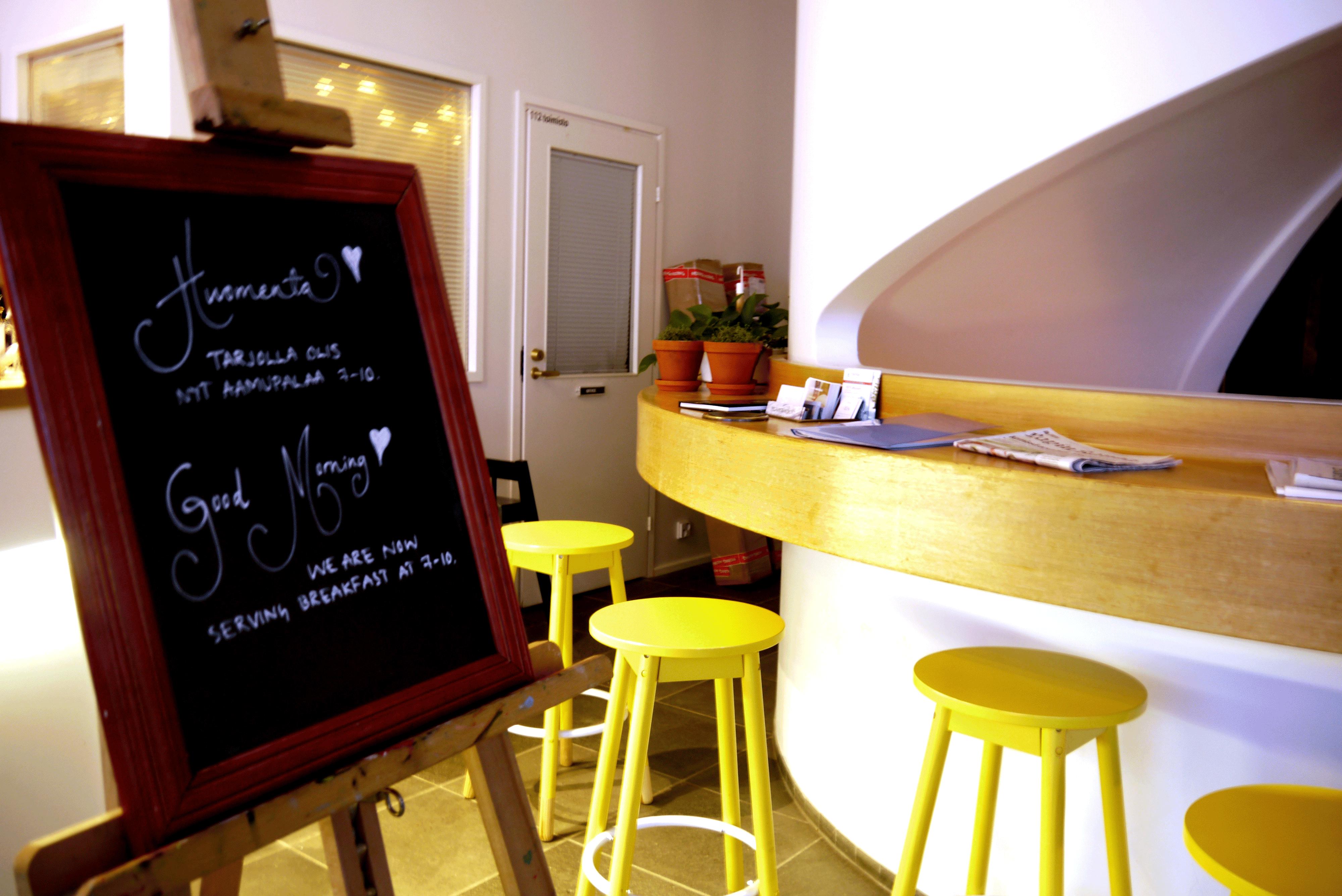 Frühstücks-Tafel Café Koti