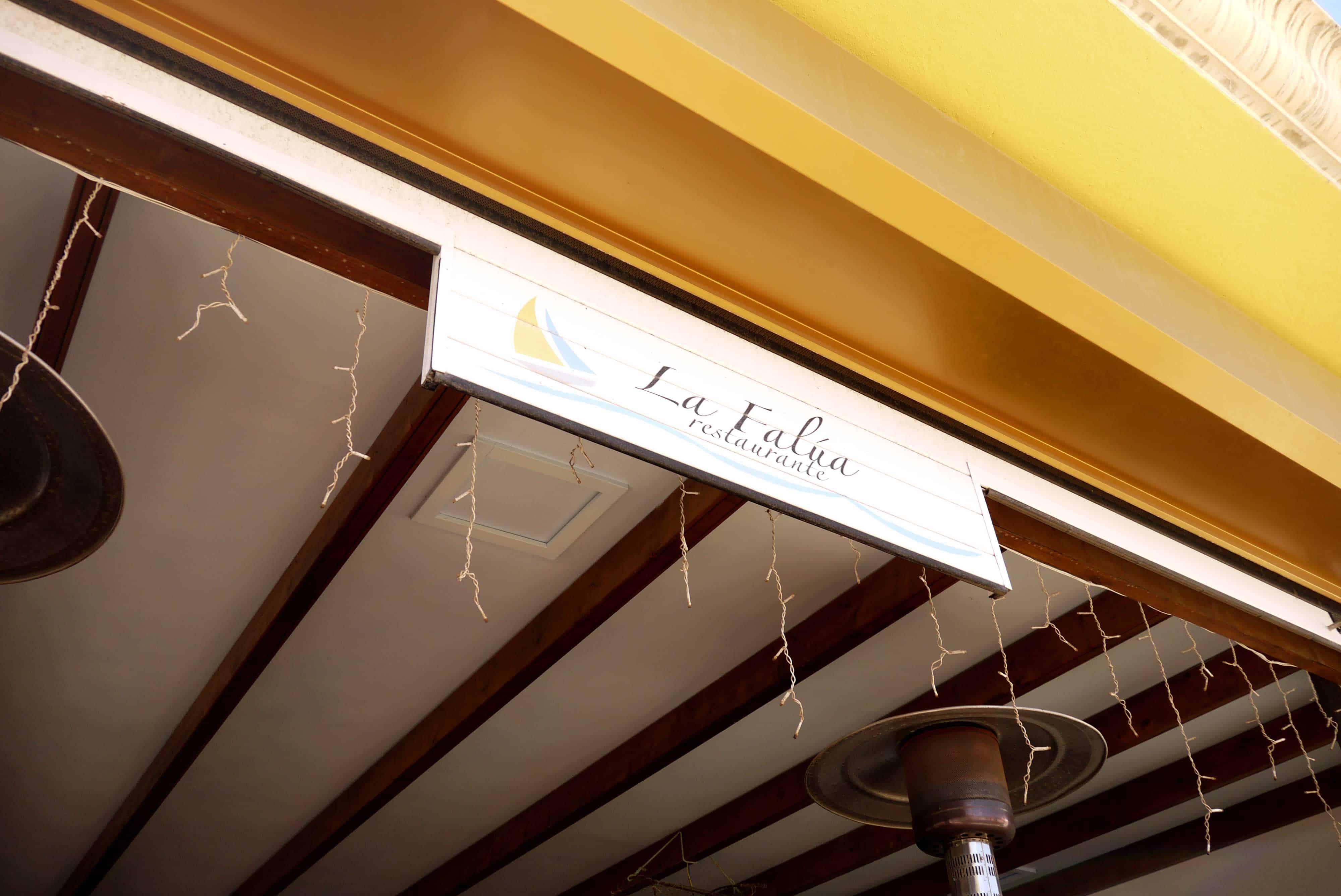 Restaurant in La Lajita